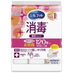 【入荷速報】シルコット 消毒ウェットティッシュ つめかえ用 40枚入×3個(Amazo