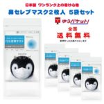 【入荷速報】ネピア 鼻セレブマスク  (ふつうサイズ)  2枚入×5個セット 送料無料(