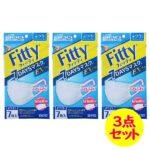 【入荷速報】フィッティ 7DAYSマスク EXプラス 7枚入 ホワイト ふつうサイズ 3点セッ